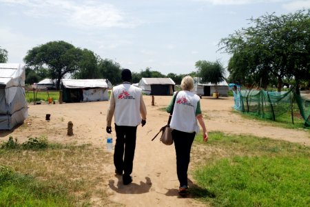 Humanitarian from Mingkaman medical center, South Sudan