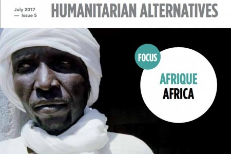 Couverture de la revue Alternatives Humanitaires