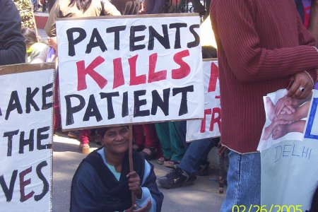 Patents kill patients