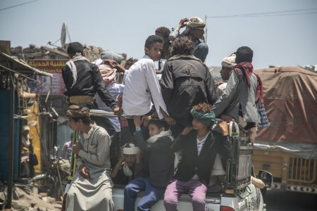 Yemen, Hodeidah, 1 May 2019 - on the road to Sanaa